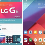 Theme supports Xperia Home Launcher and more than 700 apps supported