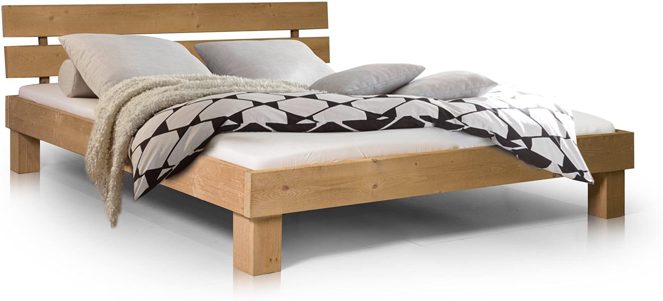 Massivholzbett Pumba Holzbett Doppelbett Material Massivholz Made