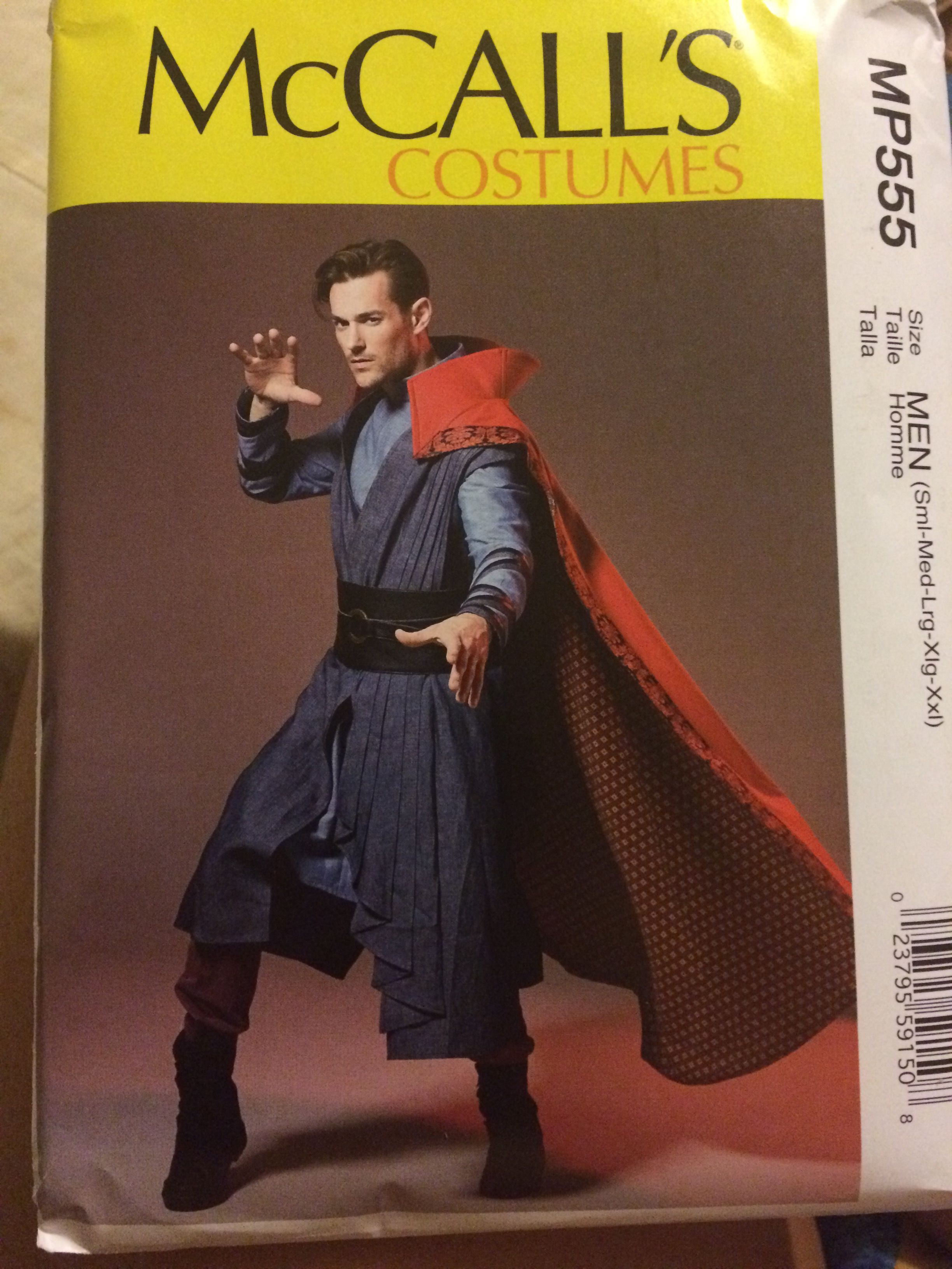 McCalls MP555 Dr. Strange costume | Pattern whore: Yes I am ...