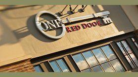 One Red Door Of Hudson Cleveland Restaurants Nissan Logo Red Door