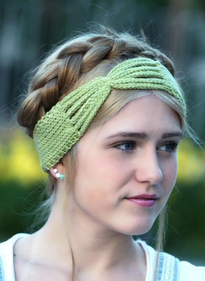 Loom Knitting Lulu Headband Tutorial Knit All Of It Pinterest