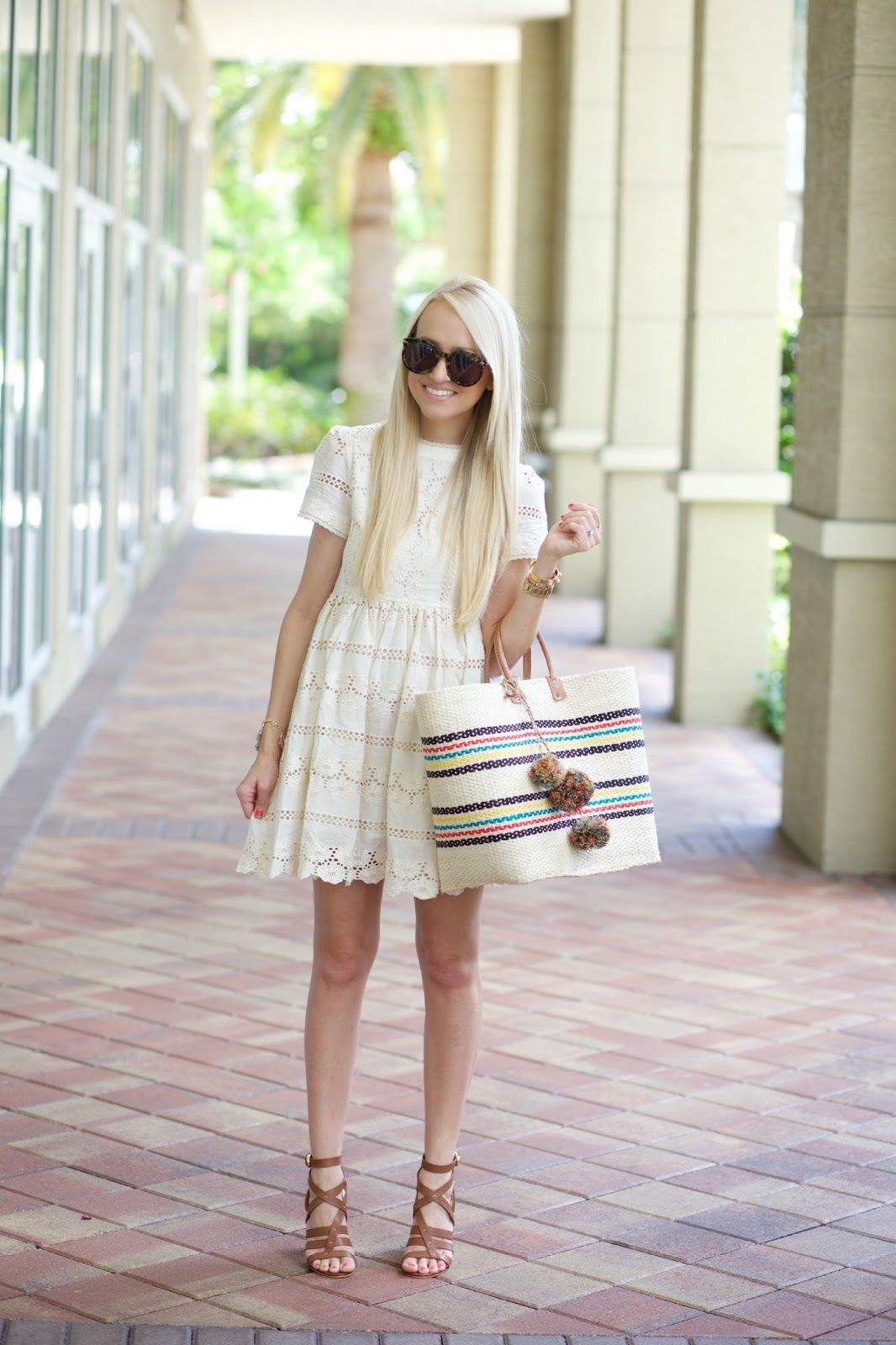 A Spoonful of Style: Lace BabyDoll Dress