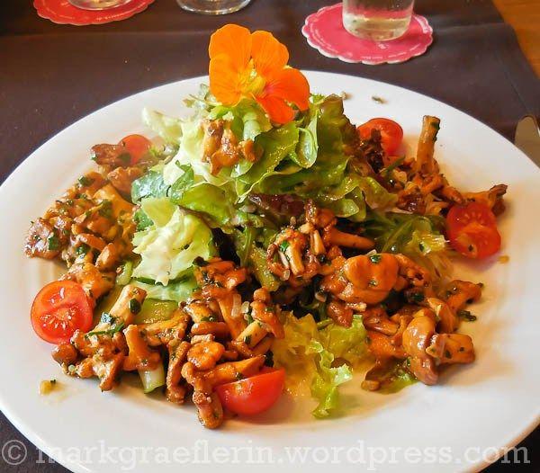 Das Restaurant Landhotel Graf in Obereggenen (2) – Sommer