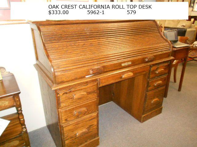 Oakcrest Roll Top Desk Tyres2c
