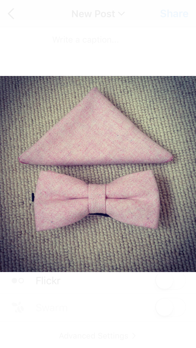 Gorgeous new wool bow ties! Look pretty in pink! www.dickiebow.co.uk