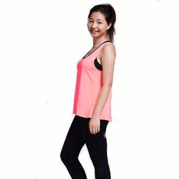 Tanque tapa de la aptitud deportiva sin mangas del chaleco de secado rápido  Yoga mujeres atractivas a799951d2b2d4
