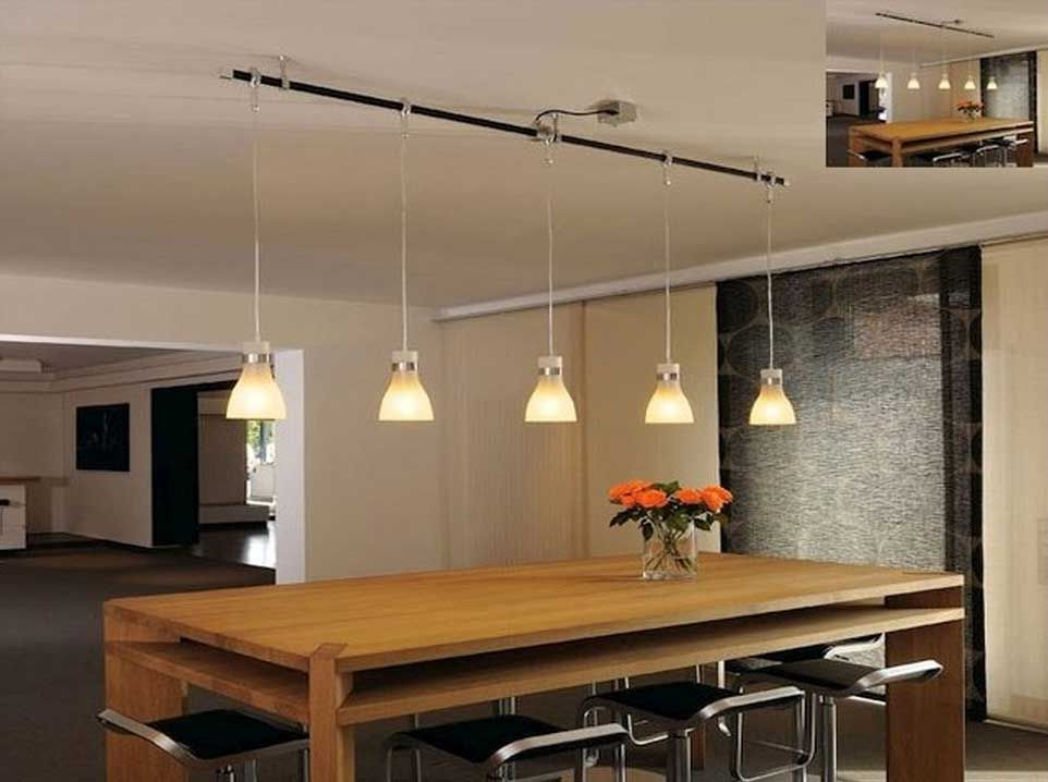 Lighting Ideas Awesome Track Pendants For Dining Table