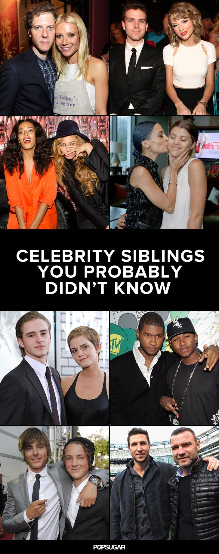 Celebrity Siblings You Didn't Know Existed - BuzzFeed