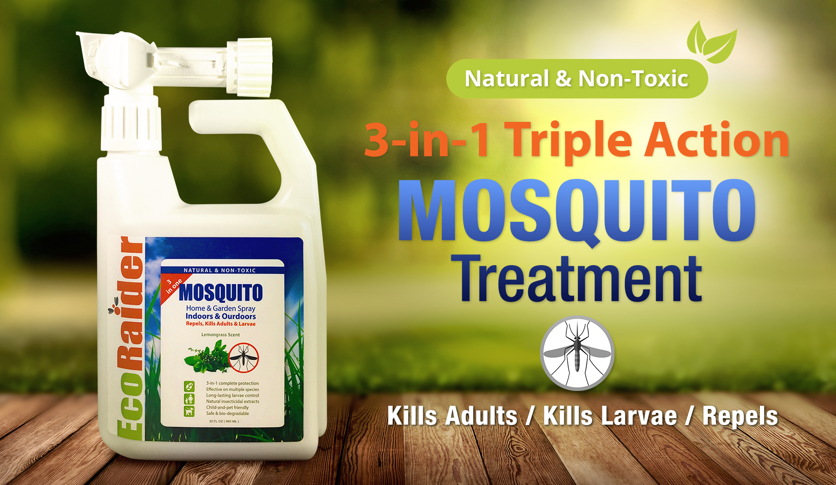Pin on EcoRaider 3in1 Mosquito killer