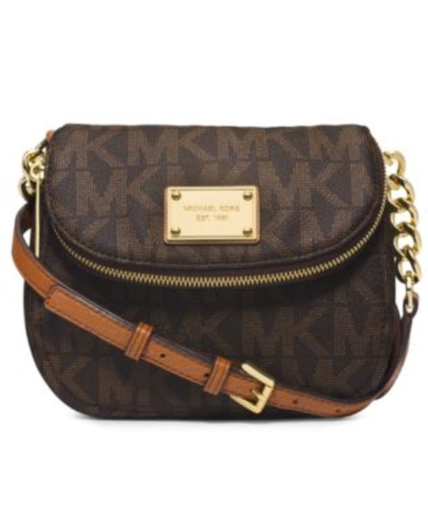 bd8d01439a19 MICHAEL Michael Kors Jet Set Item Flap Crossbody