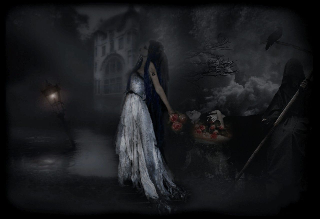 Gothic Wallpaper Free Hd Widescreen Wilson Holiday 1600x1000
