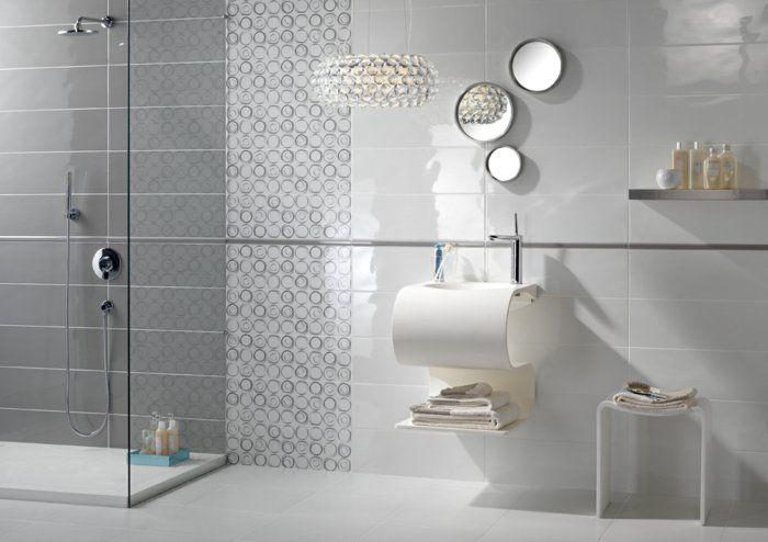 Graue Fliesen fürs Badezimmer - 61 Bilder, die Sie beeindrucken werden!