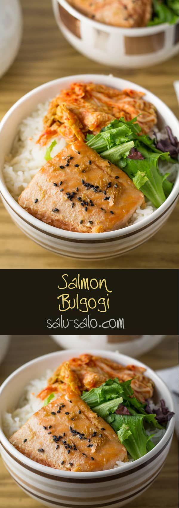 Salmon Bulgogi (Korean Style Marinated Salmon   Bulgogi ...