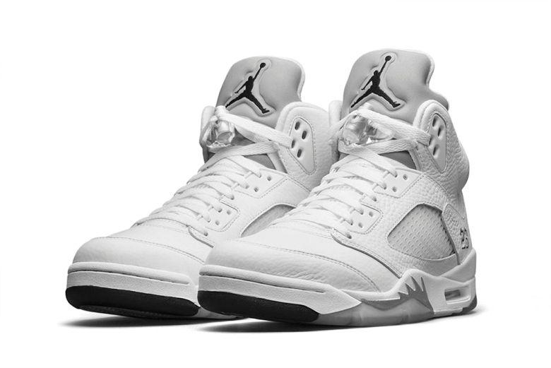 "A Closer Look at the Air Jordan 5 Retro ""Metallic Silver"""