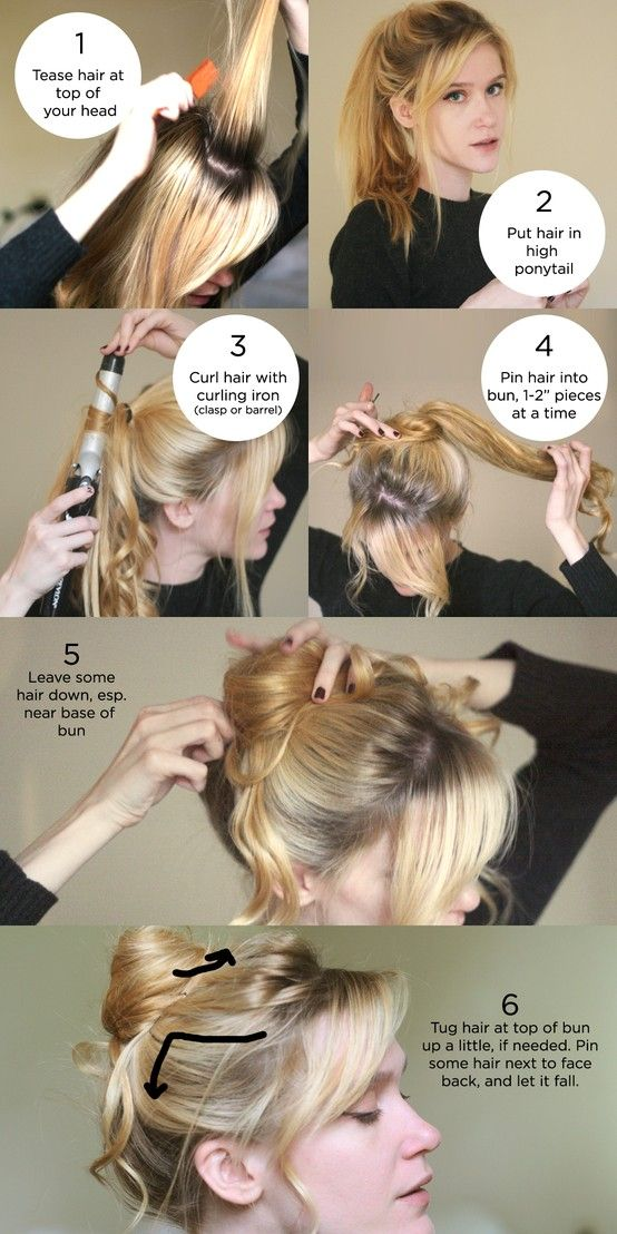 Step by step hairstyle hey this cool for school hairstyles diy bun hairstyle hair diy hairstyle bun diy ideas do it yourself easy diy diy solutioingenieria Gallery