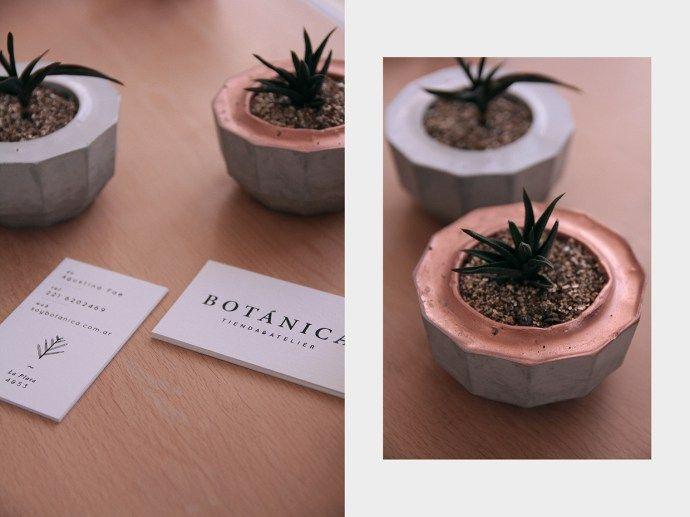 手繪植物的園藝工作室識別   MyDesy 淘靈感