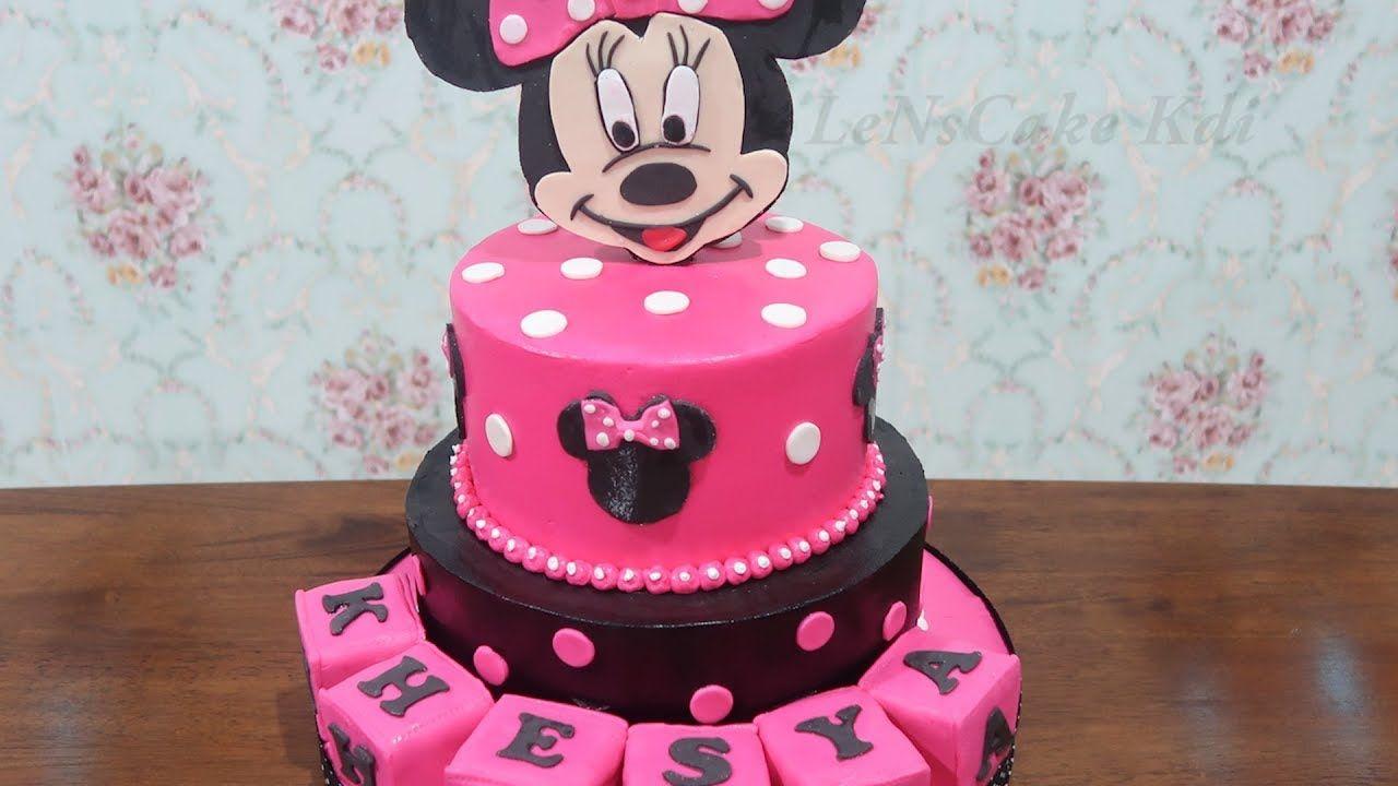 Kue Ulang Tahun Anak Perempuan Terbaru Bertingkat Kue Ultah Karakter M Kue Ulang Tahun Ulang Tahun Kue