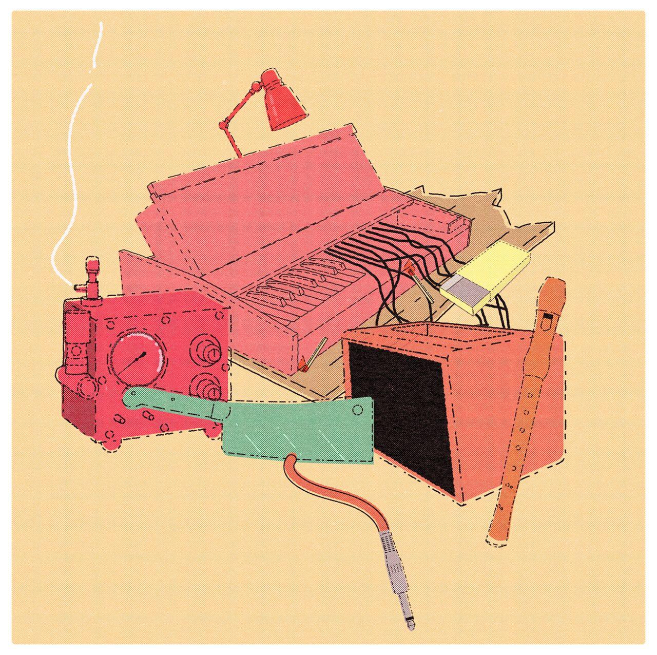 #illustration  #digital #instruments
