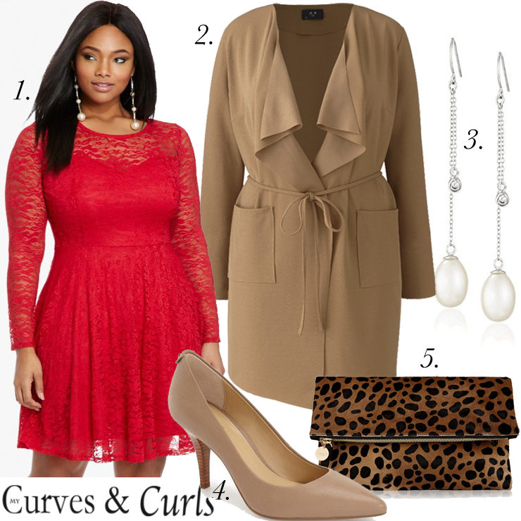 find this pin and more on look good in plus size - Plus Size Valentine Dresses