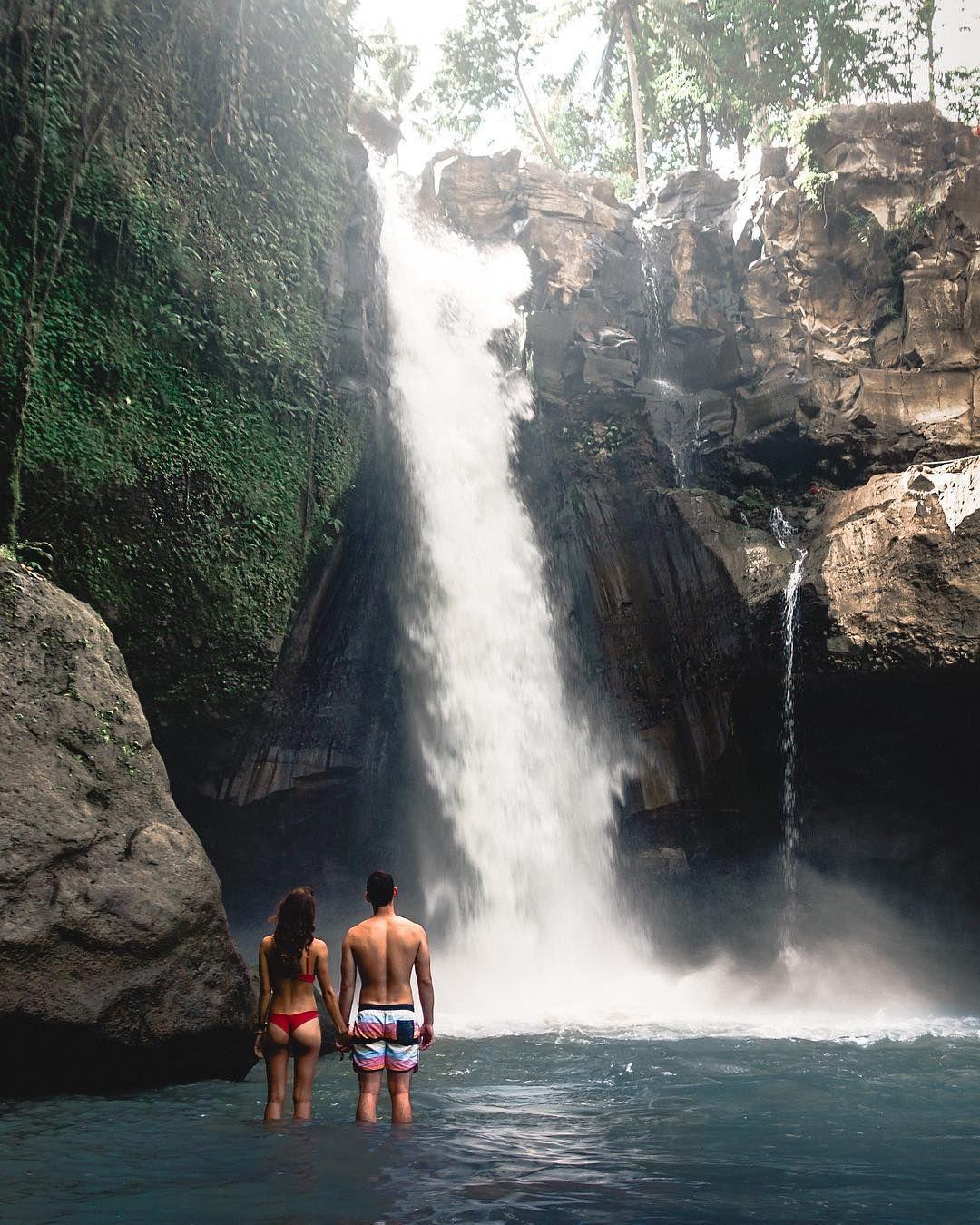 Tegenungan Waterfall Near Ubud, Bali
