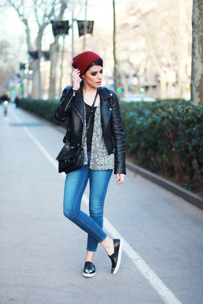 Burgundy beanie #Dulceida #blogger #fashionblogger #streetstyle #moda #outfit #tendencias #fashiontrends #fashioninspiration