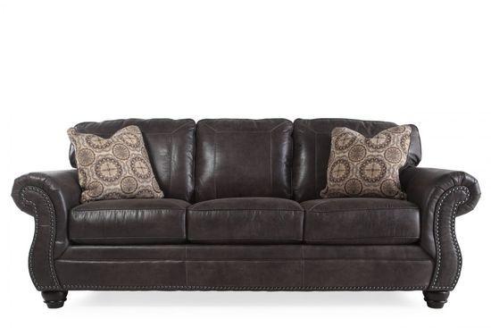Ashley Breville Charcoal Sofa | Sofa, Ashley furniture sofas