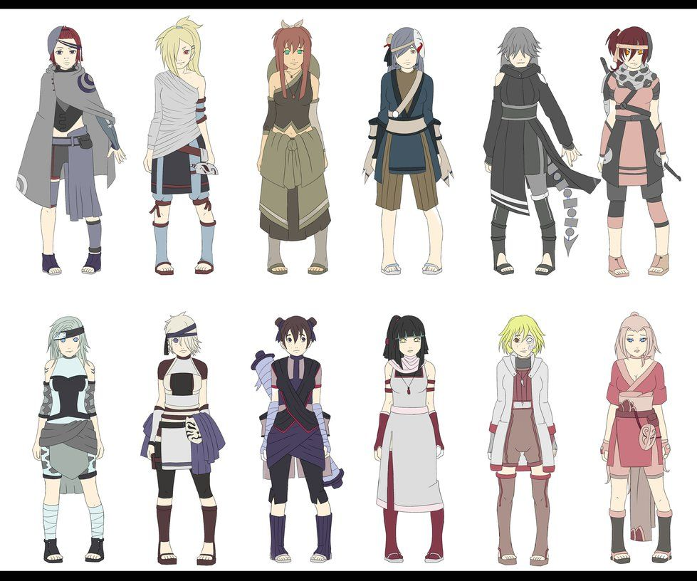 Naruto Oc Adoptables Hunter Nin/ Rouges. Repriced By
