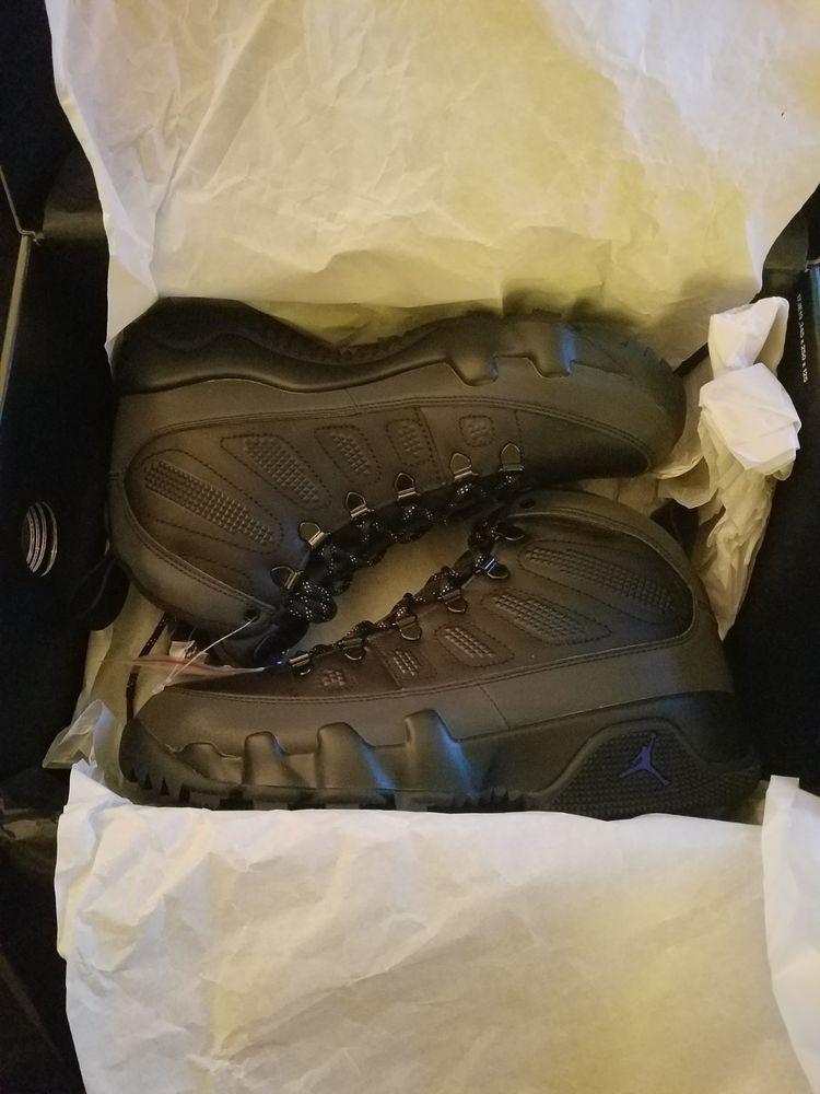 1dba79625b0 Air Jordan 9 Retro Boot NRG AR4491-001 Sz 8.5 Black/Concorde #fashion # clothing #shoes #accessories #mensshoes #athleticshoes (ebay link)