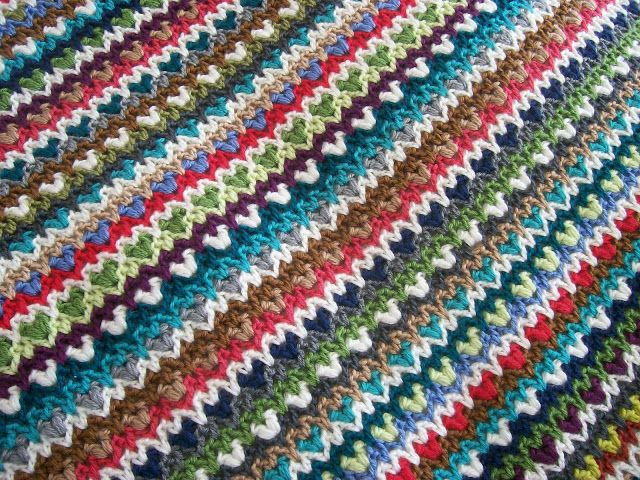 Vivre au crochet: Ma boho couverture | Crochet - blankets | Pinterest