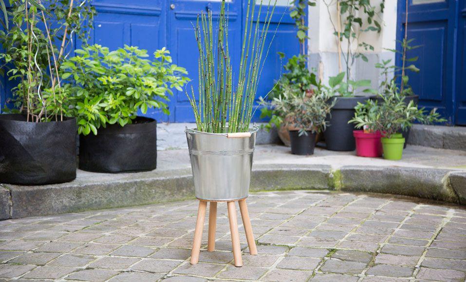 DIY  comment fabriquer un cache-pot hors du commun - construire sa terrasse en bois soimeme