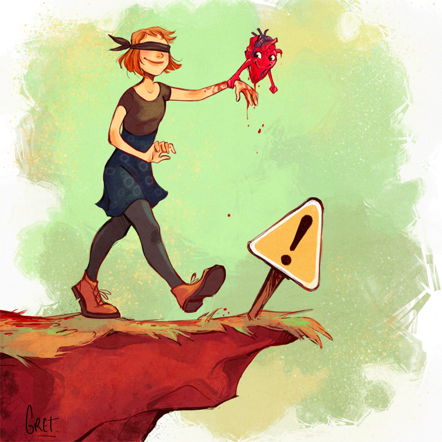 Follow your heart by Gretlusky on DeviantArt