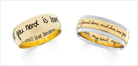 Looking To Have Your Wedding Bands Engraved We Offer Engraving Services Here At Levijewelers