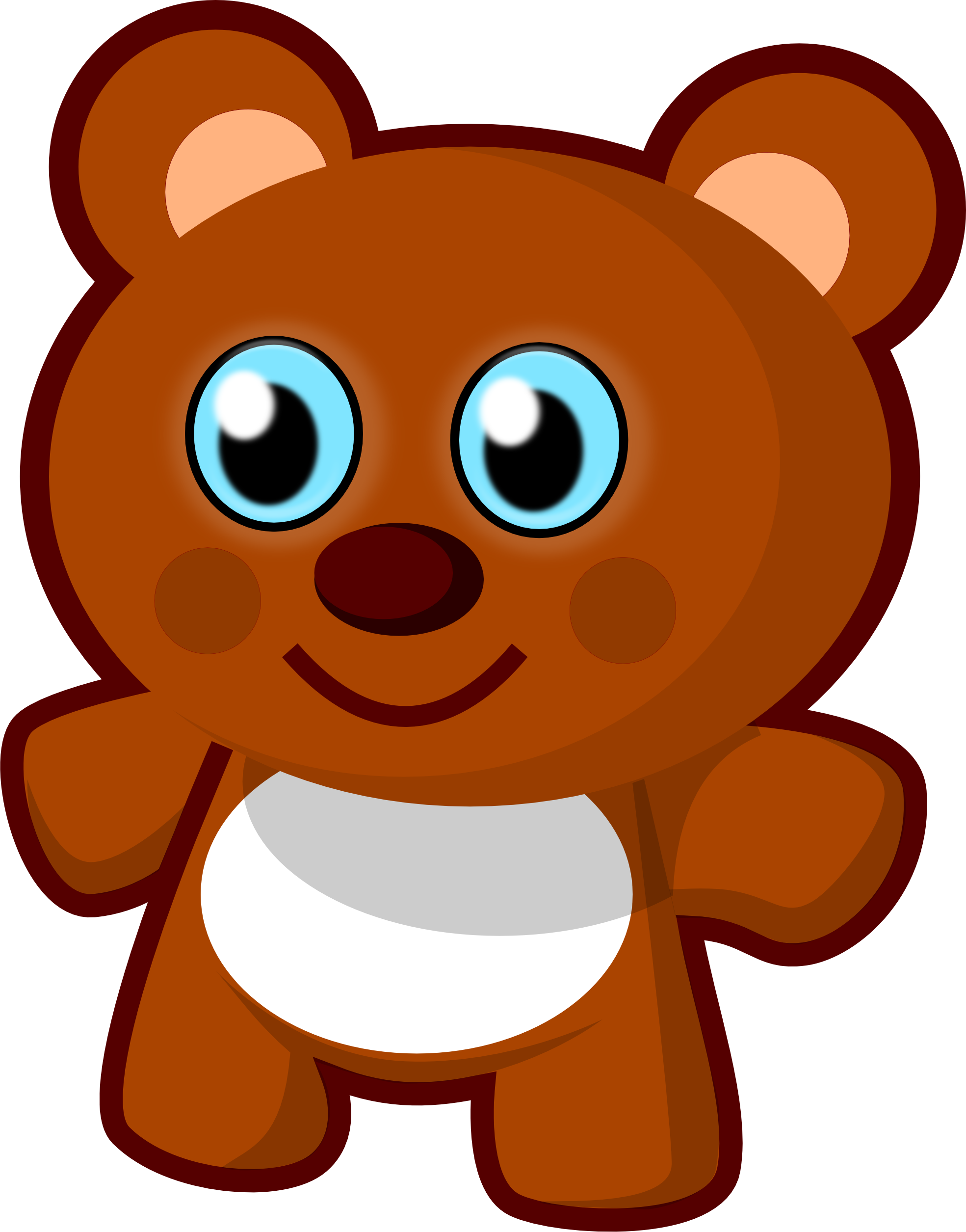 free clip art vector design of little bear toy svg has been rh pinterest ie toys clip art free downloads toy clipart free