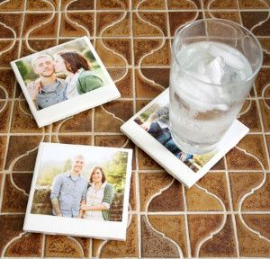 A thousand times yes to Hipster Polaroid DIY Coasters!