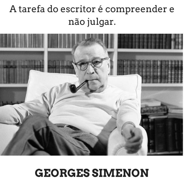 Georges Simenon | Citação