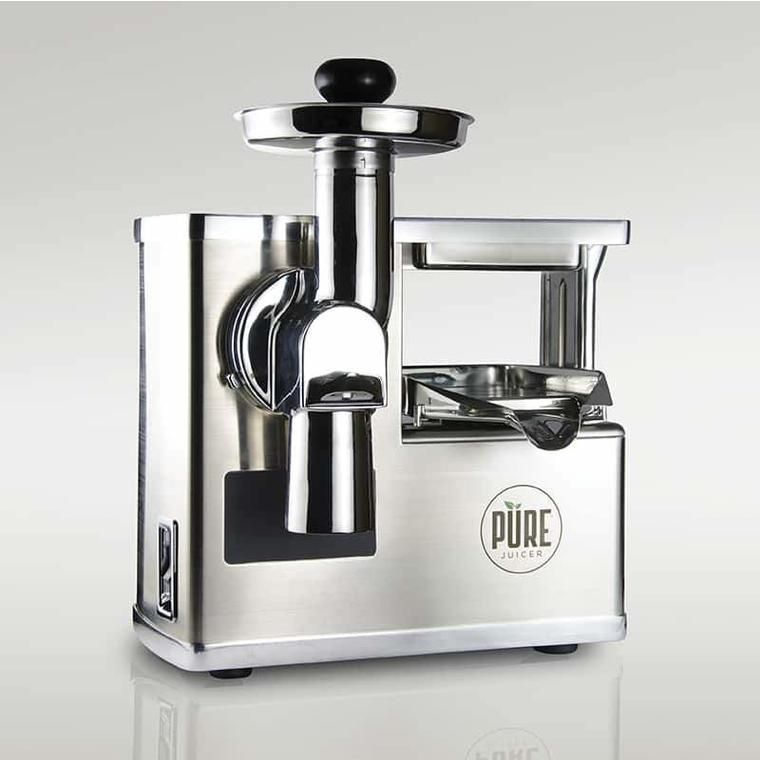 PURE Juicer Cold Press Juicer, All Stainless Steel in 2020