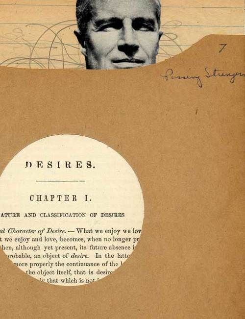 Collage by David Wallace : Desires, 2007