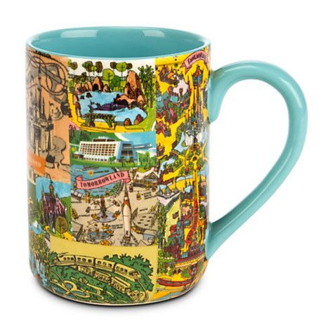 Disney Magic Kingdom Map Mug - because I AM the map!! | Disney ...