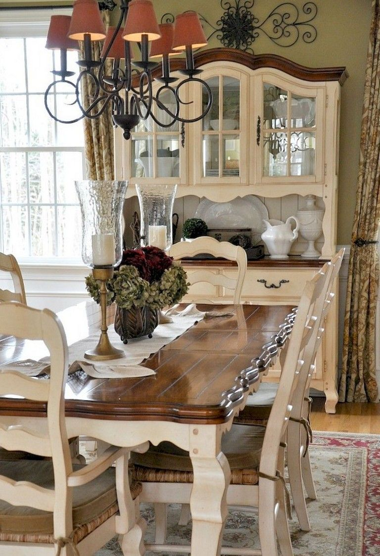76 Marvelous French Country Dining Room Decor Ideas