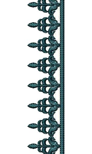 9929 Lace Embroidery Design