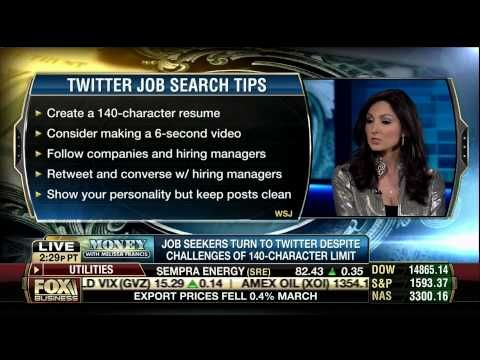FOX BUSINESS Money with Melissa Francis Social Media Expert Kris - resume social media