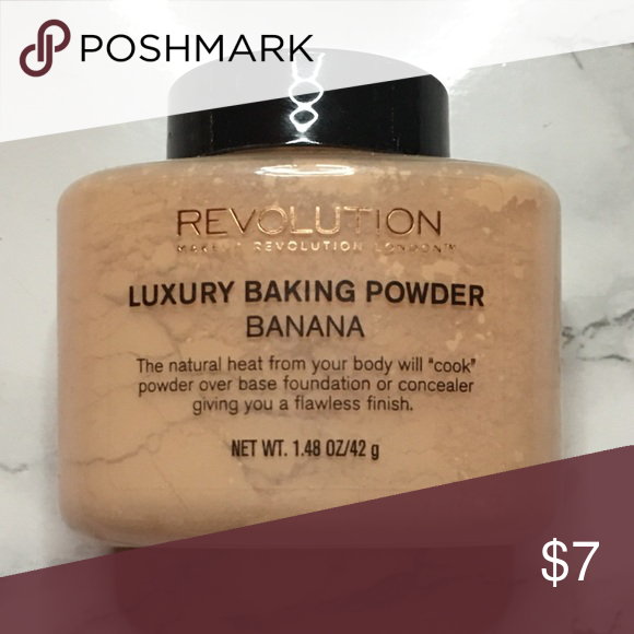 Makeup Revolution Banana Powder used 1x Makeup Revolution