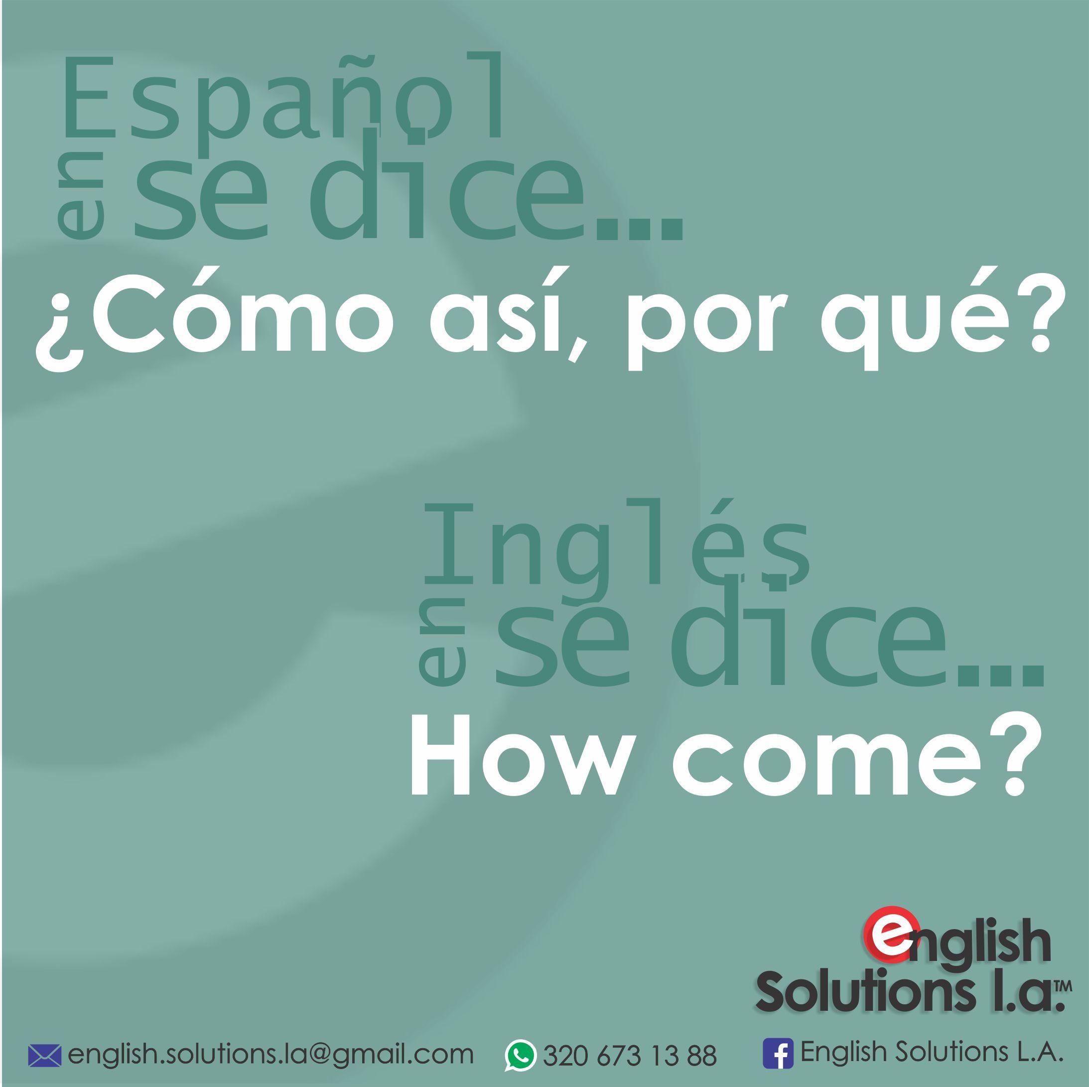 Pin En Ingles