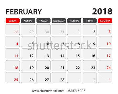 Calendar For February 2018 Week Starts On Monday 2018 Calendar