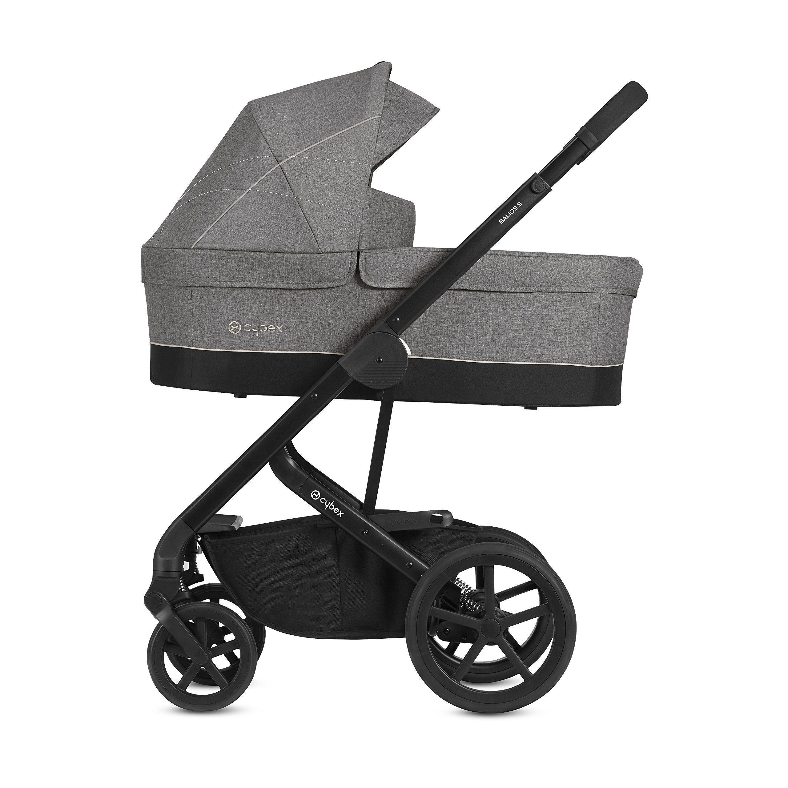 CYBEX Gold Balios S Pushchair, From Birth To 17 Kg (approx