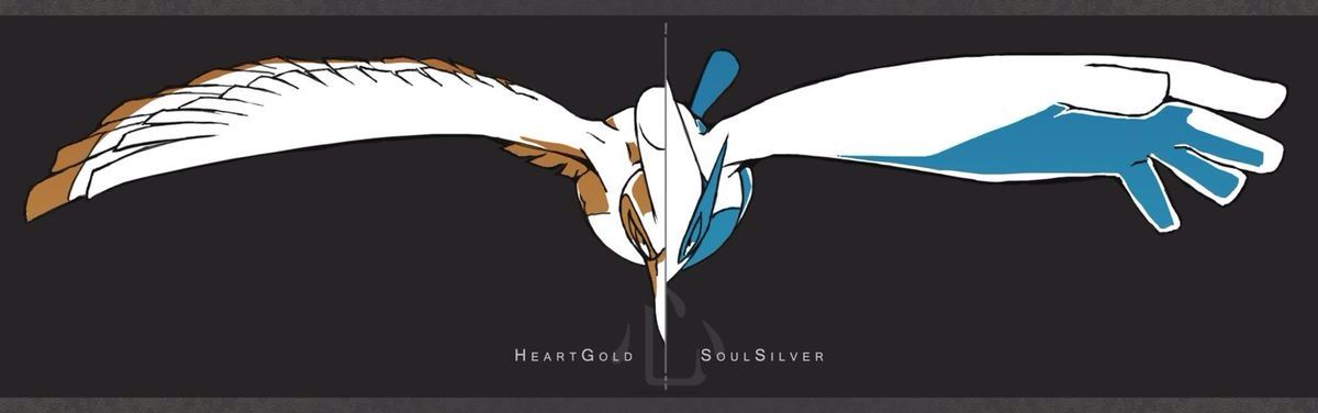 Left: Ho-oh right: Lugia