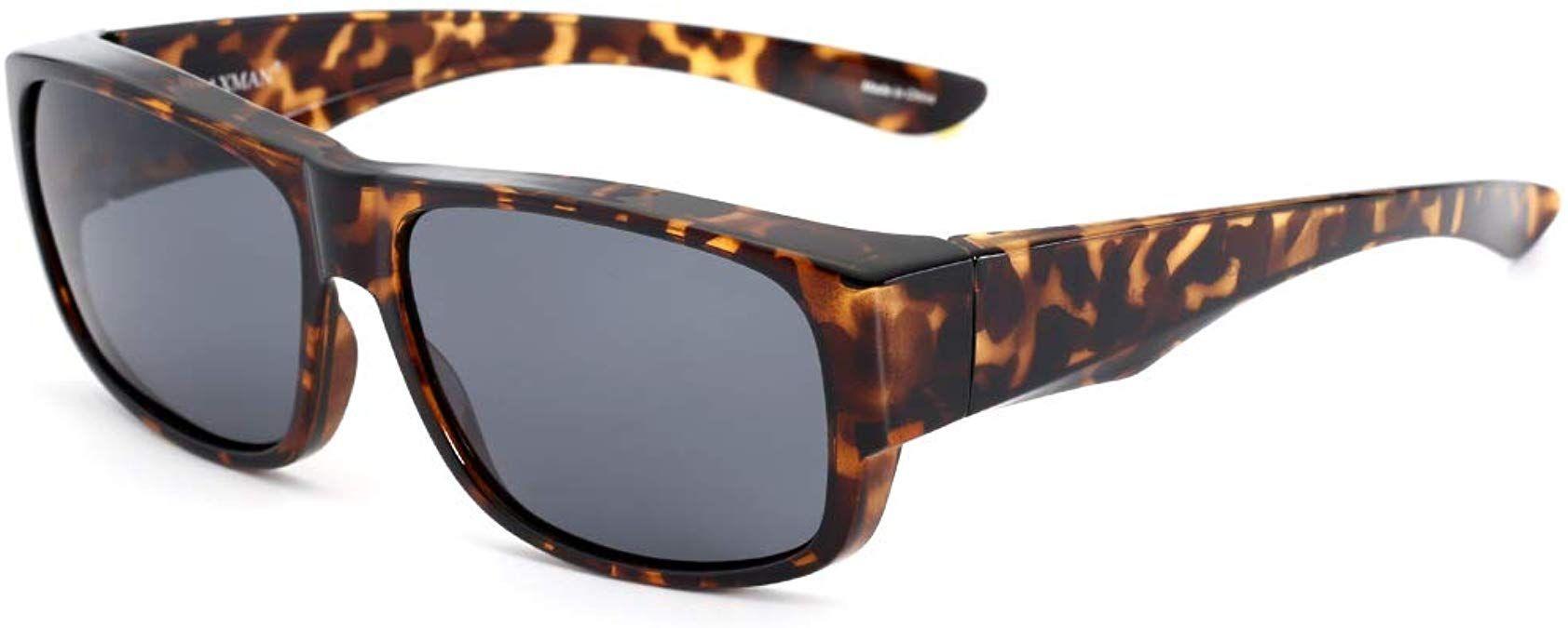 Caxman fits over glasses sunglasses polarized for men