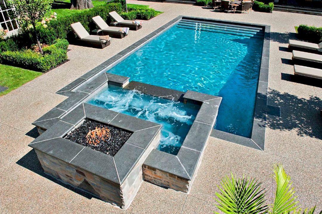 44 Incredible Pool Design Ideas For Your Home Backyard Freshouz Com Pools For Small Yards Small Pool Design Geometric Pool