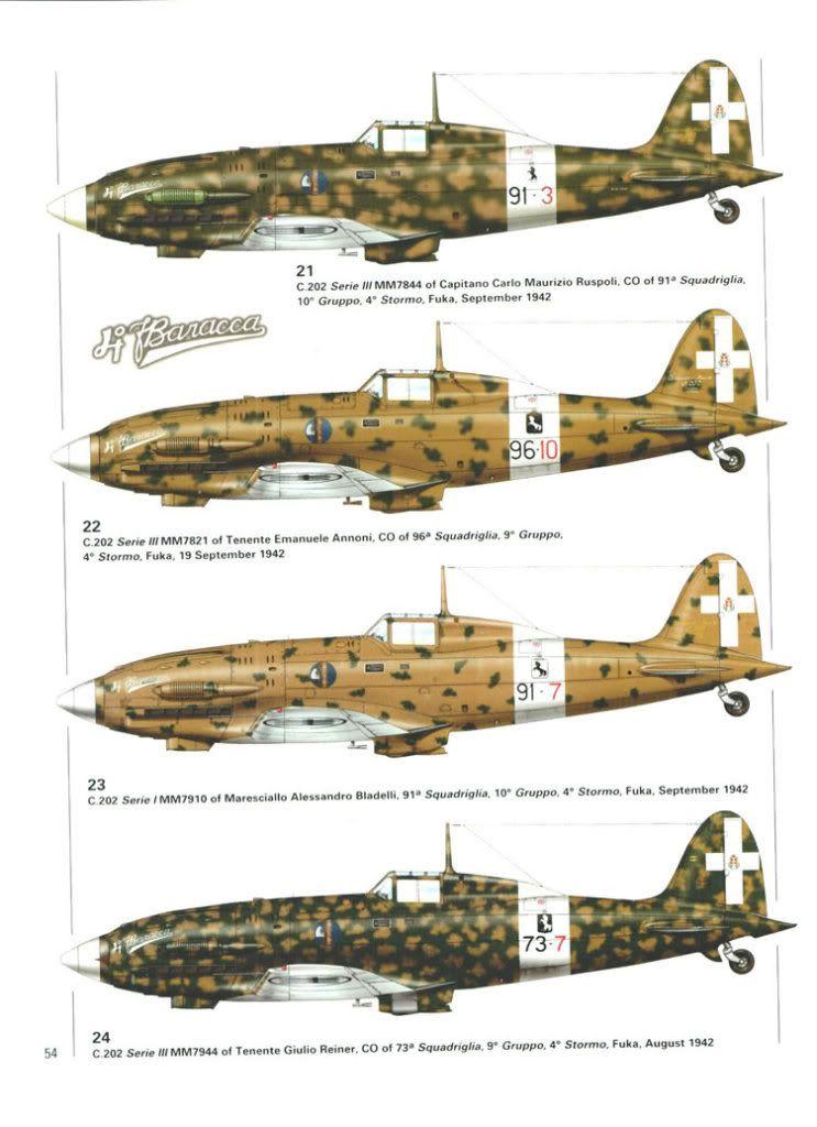 C 202 Regia Aereonautica 1942