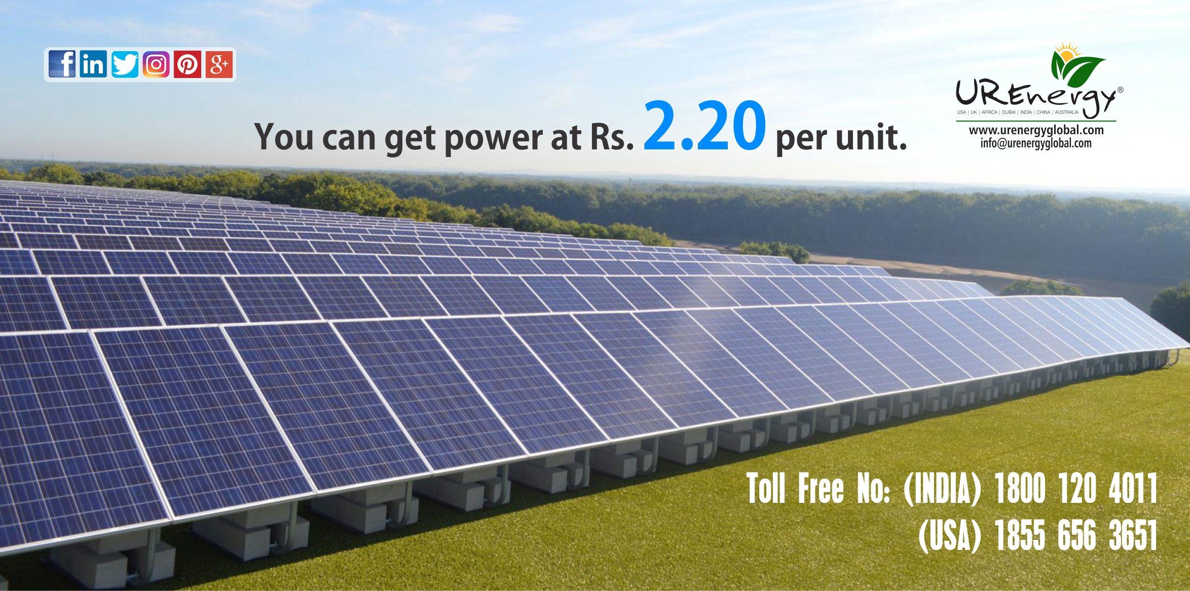 Rooftop Solar Panel Inverters Water Pump Solar Epc Gujarat India U R Energy Solar Panels Most Efficient Solar Panels Solar Energy Panels